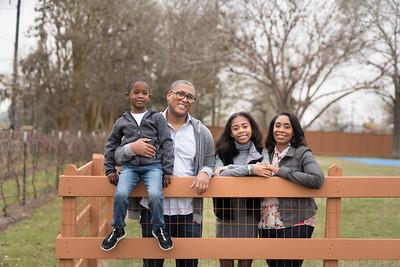 Mr. Lewis White & Family