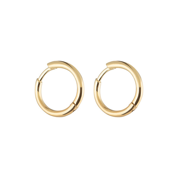 Letters round ear gold