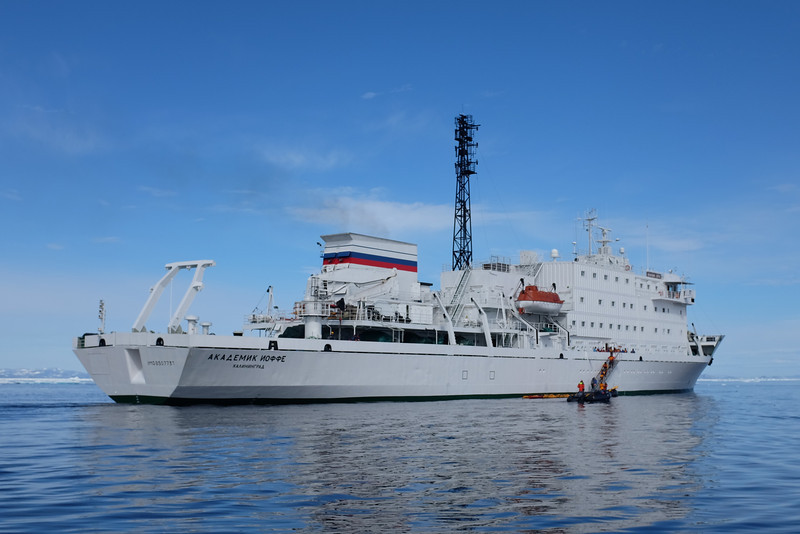 "Research Vessel ""Akademik Ioffe"" (Russia)"