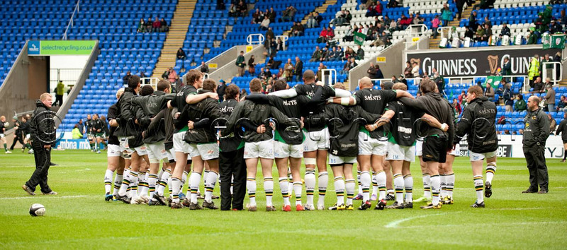 Hannah Wearmouth's view of London Irish vs Northampton Saints, 8 May 2010