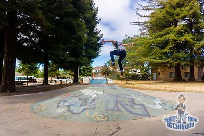Eric Garcia Skateboarding Richmond CA