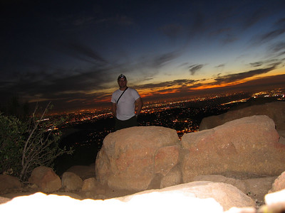 Cowles Mountain, San Diego, CA