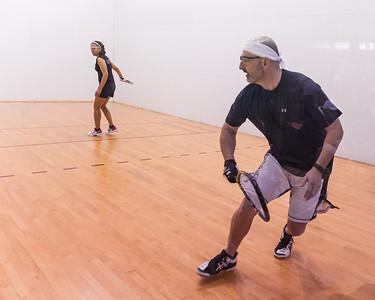 Men's Singles Open Quarters Ross Weinberg over Malia Bailey