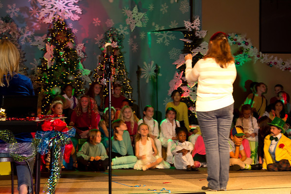 Christmas Musical Rehearsal 2012