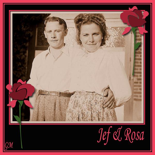 """""""Jef & Rosalie"""" 1947..."""