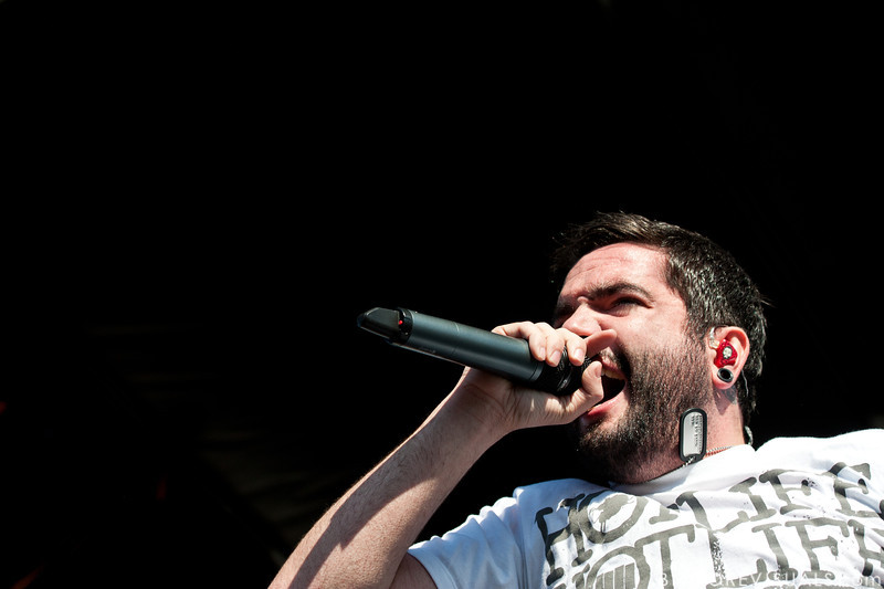 "Jeremy McKinnon of A Day To Remember performs in support of ""What Separates Me from You"" on December 5, 2010 during 97X Next Big Thing at 1-800-ASK-GARY Amphitheatre in Tampa, Florida"