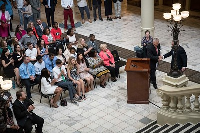 2017 Woodrow Wilson Announcement at the State Capitol