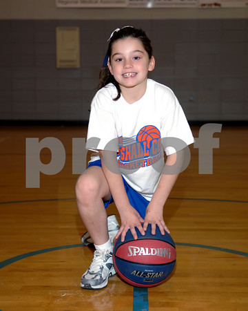 Marshall County 3 On 3 Basketball 1st & 2nd Grade Girls Rickie Collins Coach, November 21, 2009.