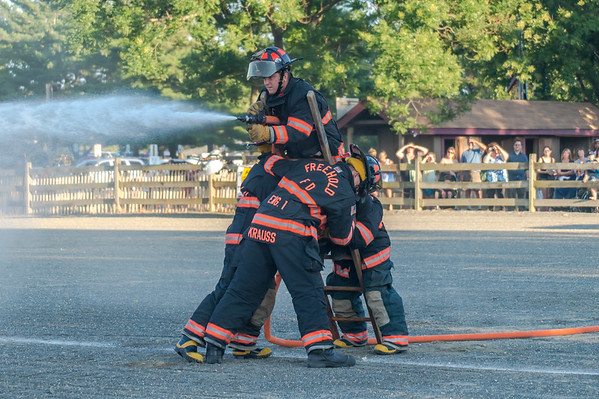 Firefighter Competition - Monouth County Fair 2015