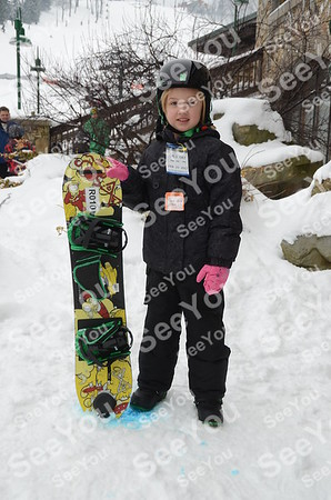 Tiny Tots Ski School 2-23-13