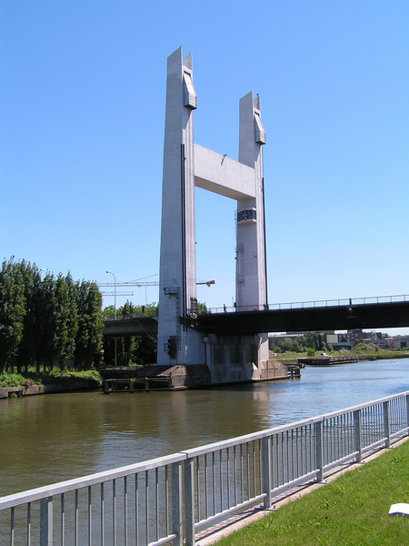 De brug: Vuurkruisenlaan Vilvoorde