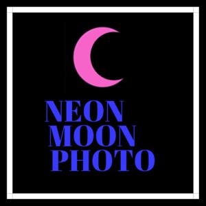 Neon Moon Photo