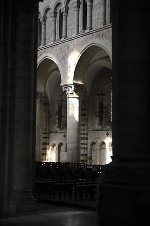 Le Mans - reflêts de cathédrale