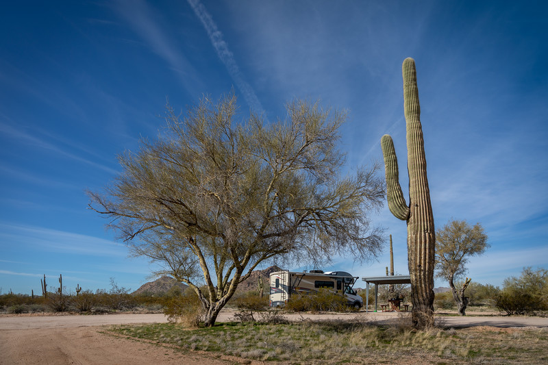 Pinal County West Park Campground