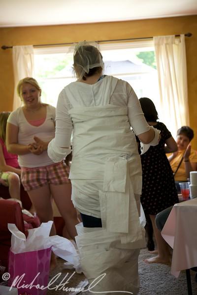 Toilet Paper Bride