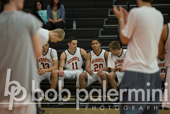Oxy Men's Basketball vs Cal Lu 1-29-14