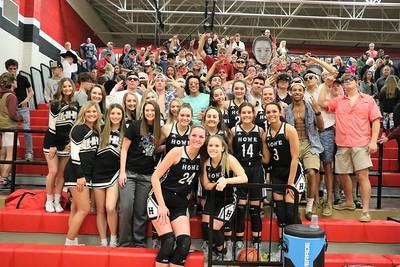 Lady Bulldogs area championship win over Rains, 2/21/2020