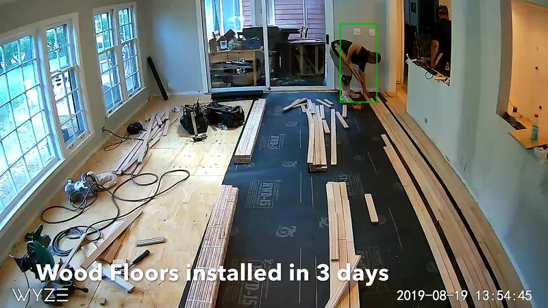 Maple Wood Floors in 3 days.MOV