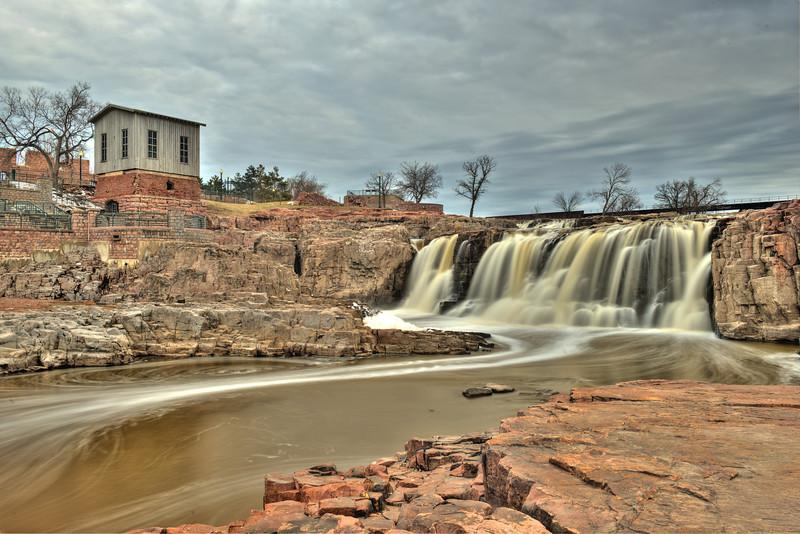 Falls Park in Spring