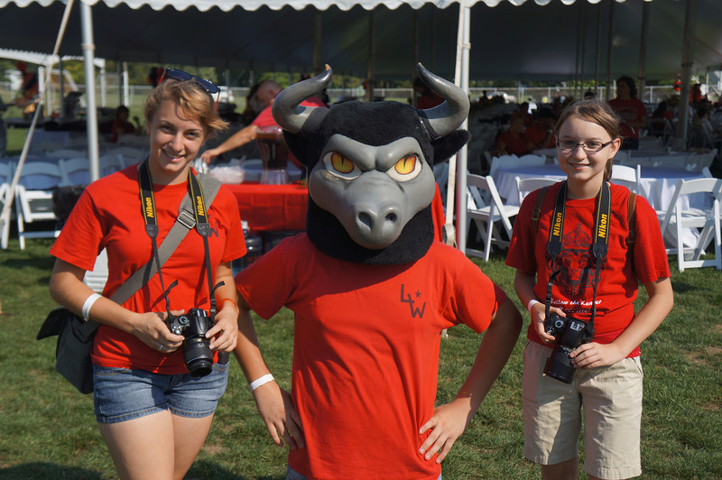 Lutheran-West-Longhorn-at-Unveiling-Bash-and-BBQ-at-Alumni-Field--2012-08-31-013.JPG