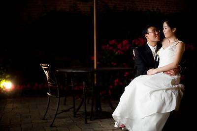 Cecilia and Kyu at UMCP Marriott