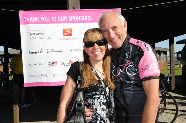 2011 Lance CBCF Ride - Riders