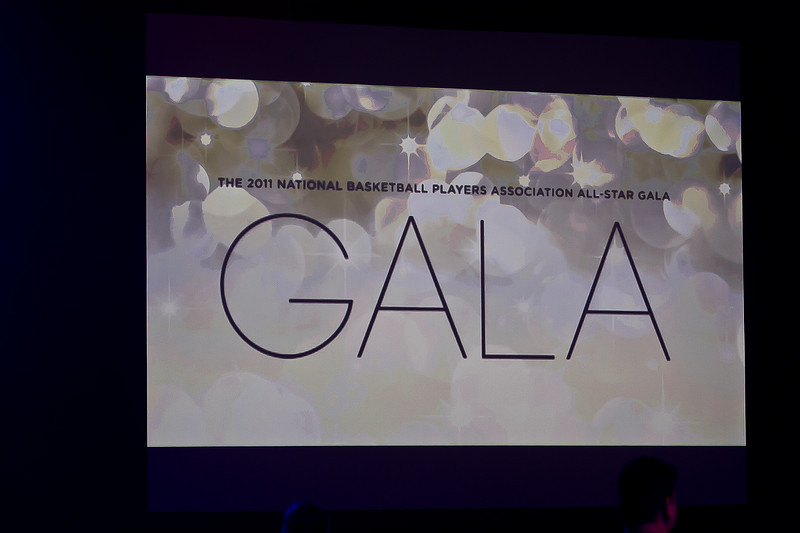 NATIONAL BASKETBAL PLAYERS ASSOCIATION ALL STAR GALA - LOS ANGELES