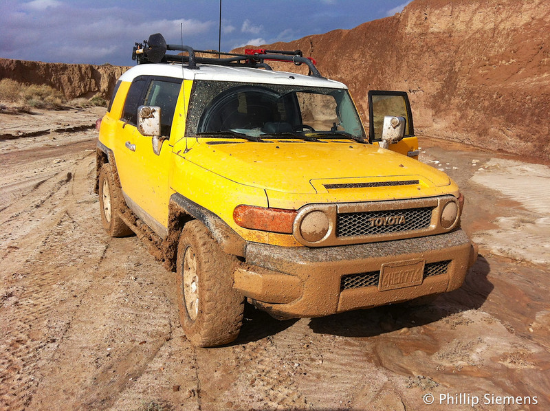 Just a little muddy