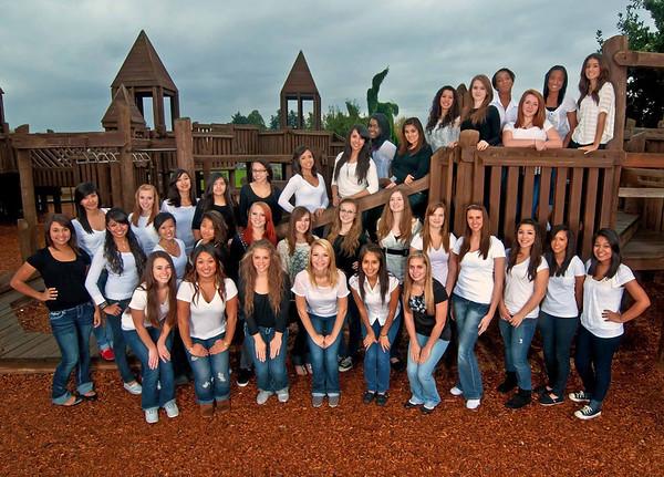 Reynolds Dance Team 2011-2012