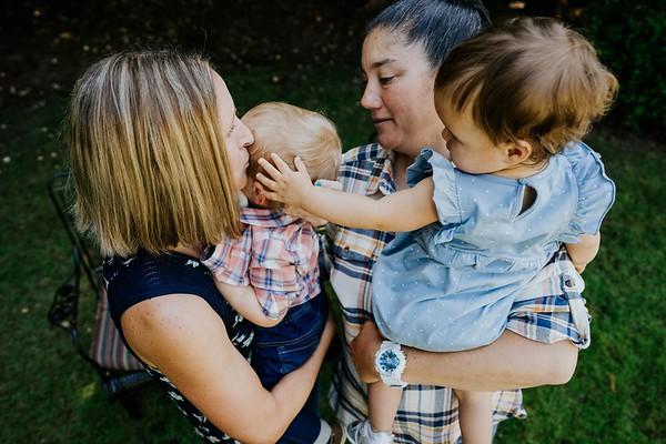 Leah + Danielle + Twins Sharing