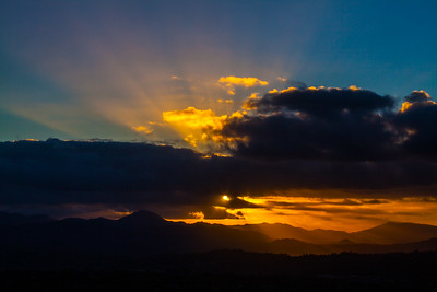 Cowles Mountain - Double Sunrise - 2015