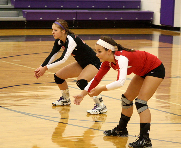 Lutheran West Volleyball vs. Keystone - August 27, 2012