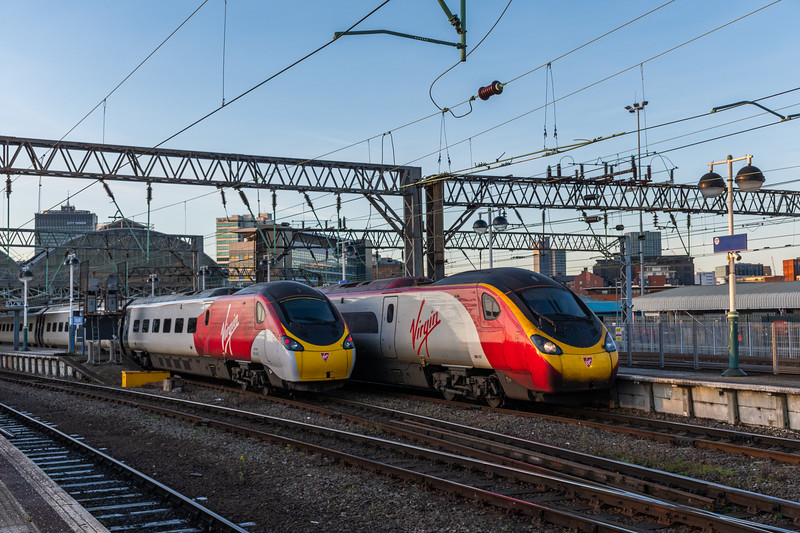 Virgin Trains - Old and New, and now history