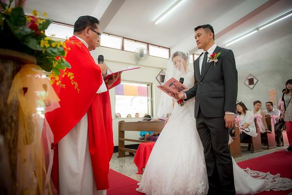 迎娶證婚/上賓朗教堂