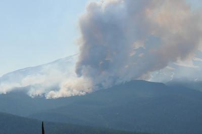Mt Hood Gnarl Fire Saturday 8-16 08
