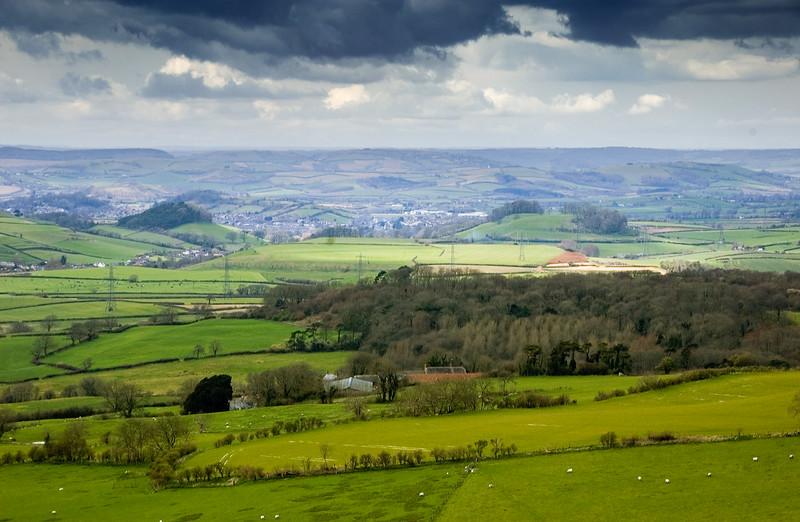West Dorset hills
