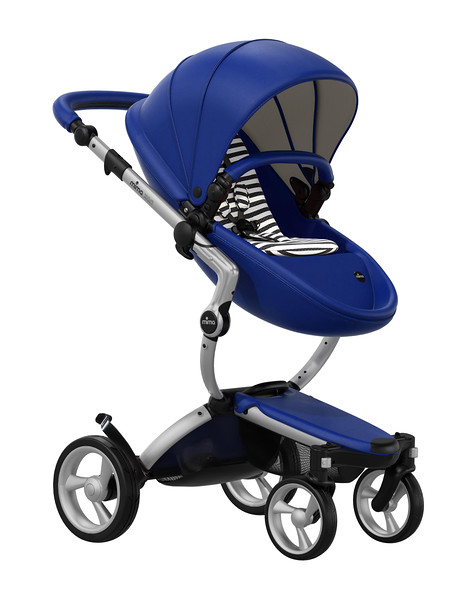 Mima_Xari_Product_Shot_Royal_Blue_Aluminium_Chassis_Black_And_White_Stripe_Seat_Pod.jpg