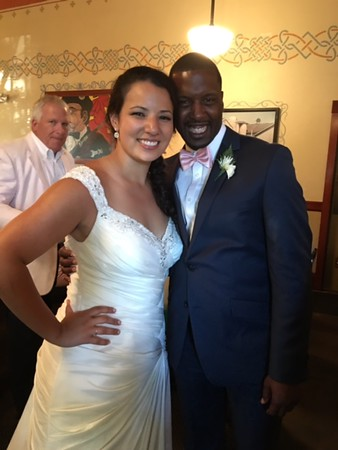 Miyoko's and Kodjo's wedding