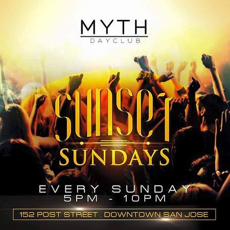 Sunset Sundays @ Myth Dayclub 11.1.15