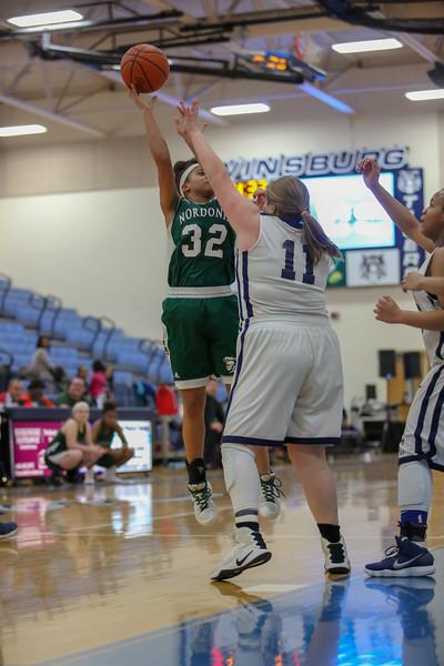 2018-02-14 -- Twinsburg Girls Varsity Basketball vs Nordonia Girls Varsity Basketball