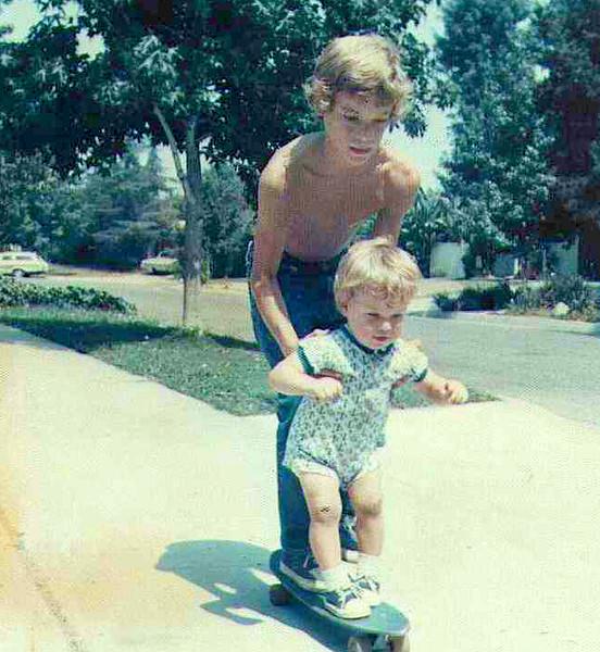 Michael Skinner & Professional Skateboarder Ronnie Creager