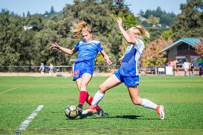 171008 - 03 Girls U15 - San Juan ECNL @ Santa Rosa United