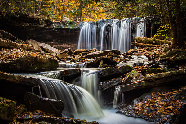 Waterfalls & Waterscapes