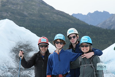 August 9 Ice Climb with Brett and Kelsey