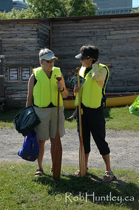 Canadian Rivers Day 2009. A guided paddle with the Ottawa Riverkeeper, down the Ottawa River from Victoria Island, passing Parliament Hill, to Petrie Island.  © Rob Huntley