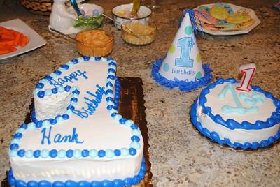 Hank's 1st Birthday Celebration