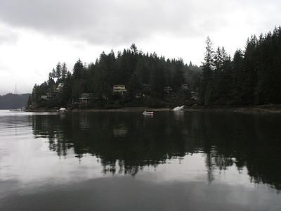 "Quaint 'Deep Cove"" on the north shore"