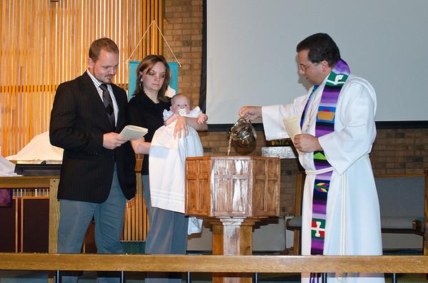 Zoe Baptism 3-27-11