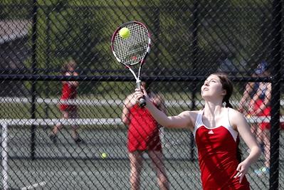 Girls Varsity Tennis - 5/16/2016 Big Rapids
