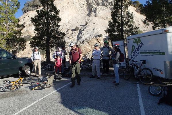 2014-03-27 - Strawberry Peak Trailwork
